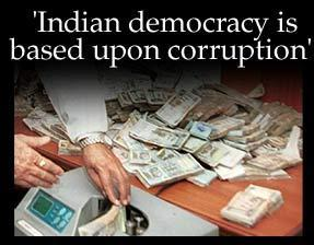 essay on corruption of india 2010