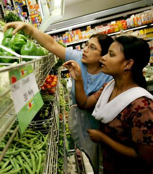 indian consumer spending rising