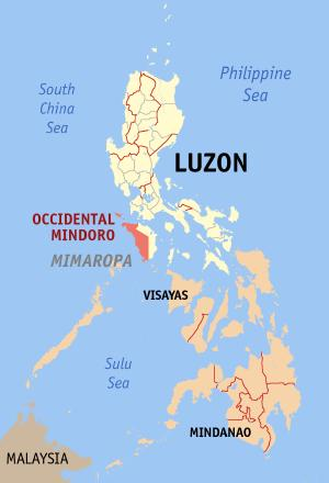 ph locator map occidental mindoro cBCPh 18811