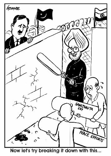 cartoon-manmohan invites gilani for wc